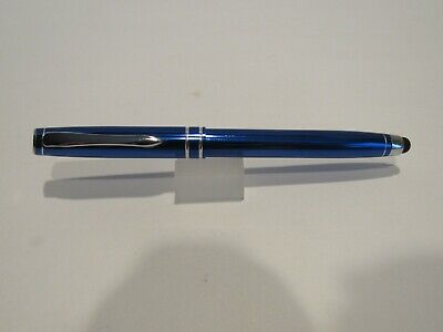 Terzetti Hemisphere Glossy Red Metal Rollerball Pen With Conductive Stylus Tip