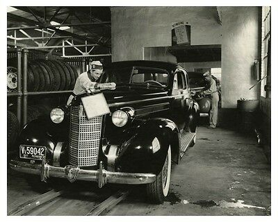 1937 Oldsmobile Automobile Factory Photo ch7855