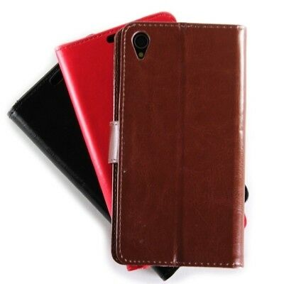 CoverON for Sony Xperia Z3 Case - Leather Wallet Pouch Folio Flip Carrying Bag
