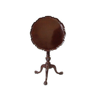 English George III Mahogany Pie Crust Table 1770