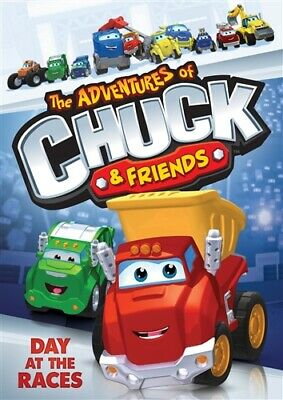 THE ADVENTURES OF CHUCK & FRIENDS DAY AT THE RACES New Sealed DVD