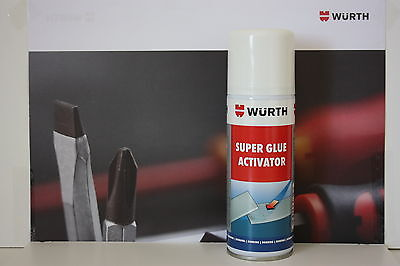 Wurth Super Glue Activator 200ml Can.