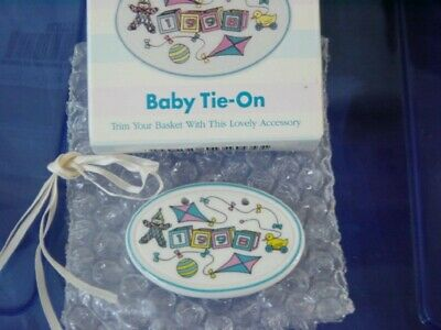Longaberger 1998 Baby Pottery Tie-On - NEW