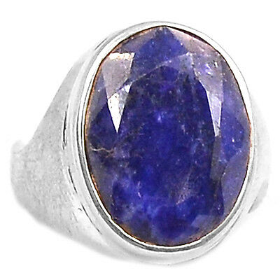 Indian Sapphire 925 Sterling Silver Ring Jewelry s6 SAPR869