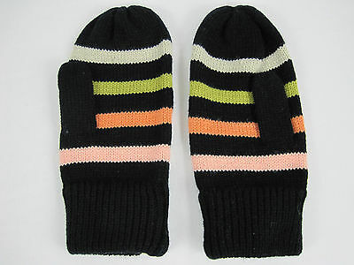 Jethro & Jackson Candy Stripes Adults Winter Mittens Gloves