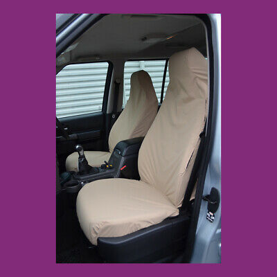 Excellent Land Rover Discovery 3 4 Front Pair Beige Tailored Caraccident5 Cool Chair Designs And Ideas Caraccident5Info