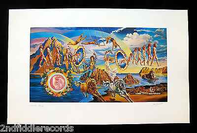 THE DOORS-FULL CIRCLE-Artist Signed &  John Kosh Owned Lithograph-#52/200