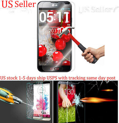 Real Tempered Glass Explosion proof Screen Protector LG Optimus G Pro E980 AT&T