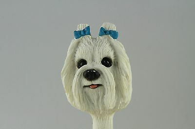Maltese Interchangeable  Head See All Breeds  Bodies @ Ebay Store)