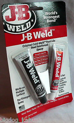 J-B Weld 8265-S Original Cold-Weld Adhesive Compound Steel Reinforced Epoxy