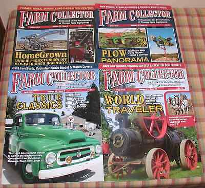 Four Issues Of Farm Collector Magazine From 2012