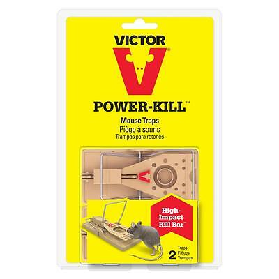 2 Pack Power-Kill Mouse Trap by Victor M142