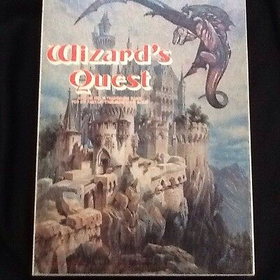 Wizard's Quest Bookcase Game Used Avalon Hill