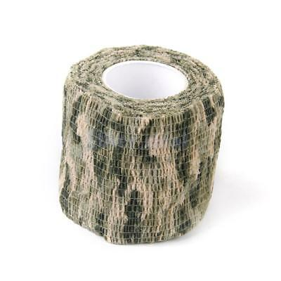 MagiDeal Panzerband Bundeswehr Klebeband Camouflage Camo Hunting Tape Wrap