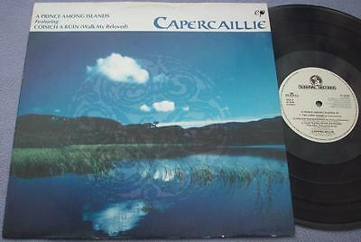 "CAPERCAILLIE Prince Among Islands 1992 Survival 12"" EP PICTURE SLEEVE IRISH FOLK"