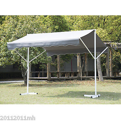 Outsunny 9.8' x 11.5' Patio Awning 2 Sided Garden Sun Shade Shelter Outdoor