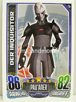 #029 Der Inquisitor - Star Wars Rebel Attax