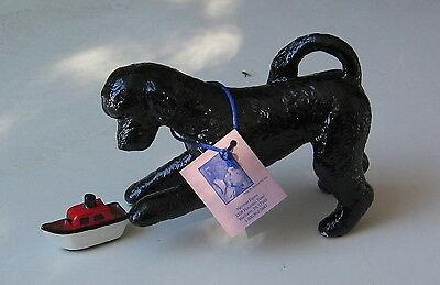 "Portguese Water Dog Limited Edition Figurine "" Childs Play """