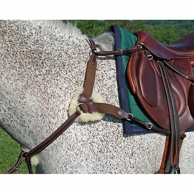 Nunn Finer 5 Way Breastplate - Havana Brown - Horse Size - #18521