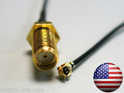 U.FL IPEX female to SMA female Jack pigtail cable for Bitmain Antminer S3 + PLUS