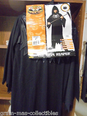 Costume Boys The Grim Reaper  Med For Years 5-7 New