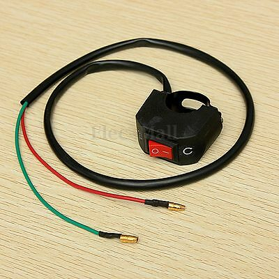 Universel Moto Scooter Quad ATV Phare Lampe Interrupteur Guidon ON/OFF Bouton