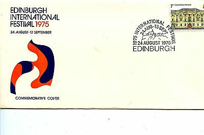Old First Day Cover stamps FDC Great Britain British Edinburgh Int.Fest. 1975