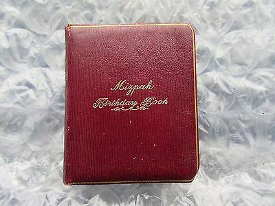 Old 1914 Mizpah Birthday Book Daily Texts from Scripture