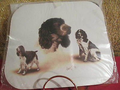 SPRINGER SPANIEL   ~   by ROBERT MAY ~ MOUSE PAD