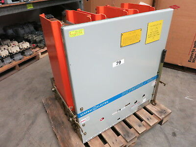 GE Power/Vac 1200A VB 13.8-750-3 15 kV Vacuum Breaker General Electric PowerVac
