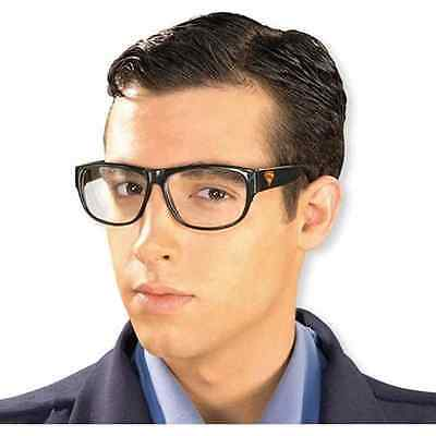 Clark Kent Glasses Nerd Superman Fancy Dress Up Halloween Costume Accessory