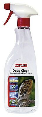 Deep Clean Longer Lasting Disinfectant From Beaphar - Reptile Disinfectant