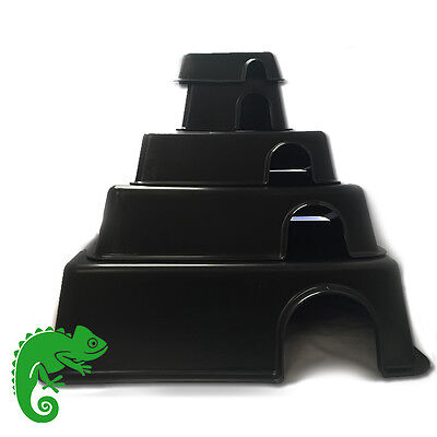 Internet Reptile Plastic Hide Box, Snakes, Spiders, Lizards