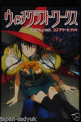 JAPAN Anime: Witch Craft Works Complete Book