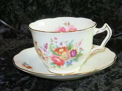 Vintage Replacement China George Jones & Sons Crescent Ware Cup & Saucer 1939