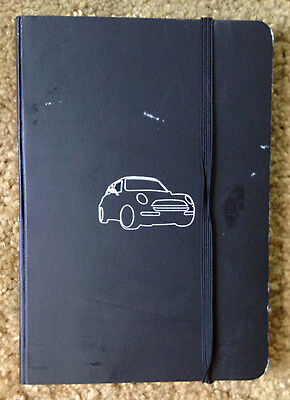 MINI COOPER Motoring Journal black unused