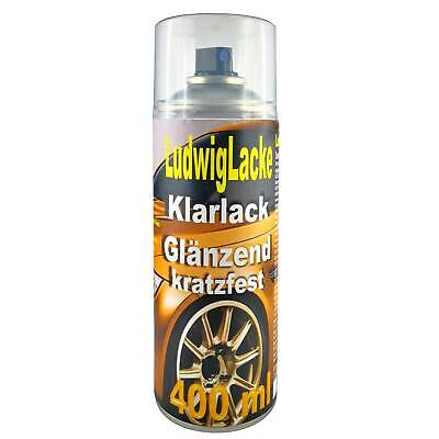 KLARLACK 1 Spraydose  GLÄNZEND  Autolack 400ml Made in Germany FreiHaus