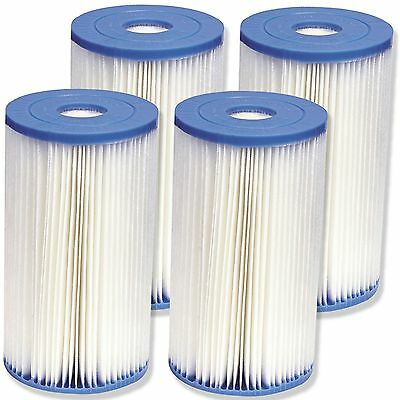 Intex Type B Filter Cartridge for Above Ground Swimming Pool Pumps 4 Pack