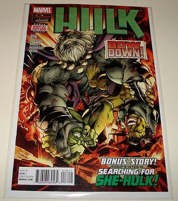 HULK # 16  Marvel Comic  July 2015  NM