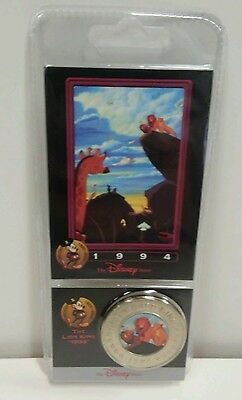 Disney Decades Coins Coin #39 1994 THE LION KING VINTAGE UNOPENED