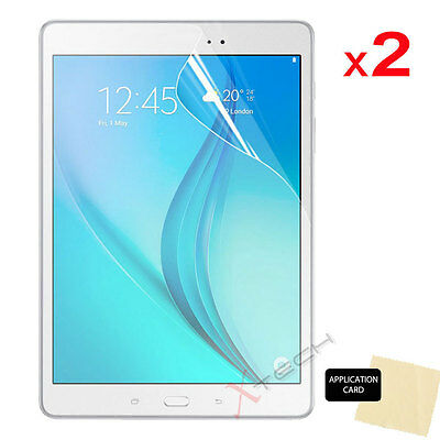 2x CLEAR Screen Protector Covers for Samsung Galaxy Tab A 9.7 Inch SM-T550 T555