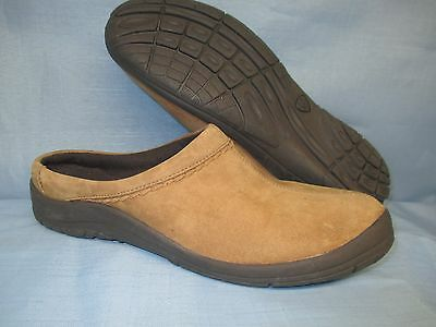 Womens Shoes  ARIAT Size 7 B MULES BROWN SUEDE EXC