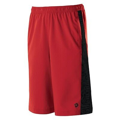 DeMarini Yard-Work Shorts Men Red New Gameday Moisiture Management