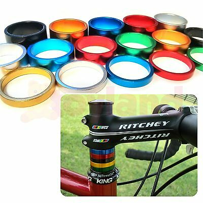 "Bike Headset Spacers 1⅛"" Bicycle Cnc Machine Light Alloy 5 10 15Mm Fixie Bmx Mtb"