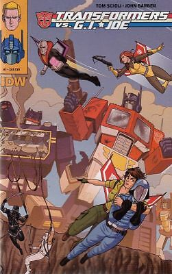 Transformers Vs Gi Joe #7 Sub Cvr (Idw Comics)