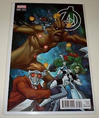 AVENGERS # 32  Marvel Comic  Sept 2014 NM  Guardians of the Galaxy VARIANT COVER