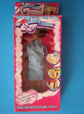 Judith Mommy To Be Doll 1991 Pregnant Aa Mom & Baby Mib