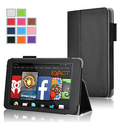 KINDLE FIRE HD 7 4th Gen Tablet (2014 Oct Release) Leather