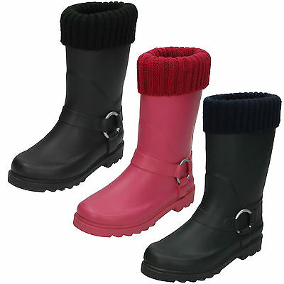 WHOLESALE Childrens Wellingtons / Sizes 10x2 / 14 Pairs / X1038