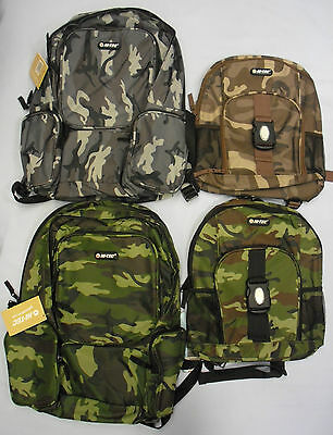 Childrens Kids Adults Bag Backpack Rucksack Hi-tec Army Camo Camouflage